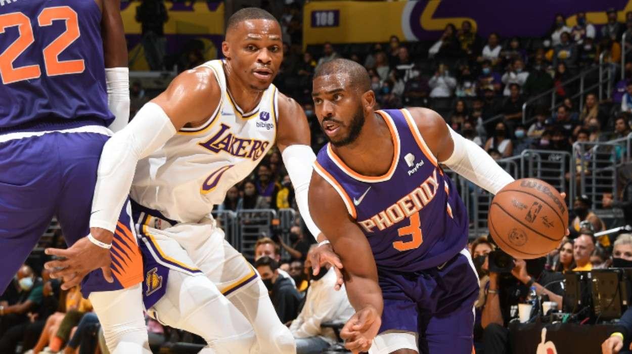 Chris Paul Phoenix Suns Los Angeles Lakers Russell Westbrook
