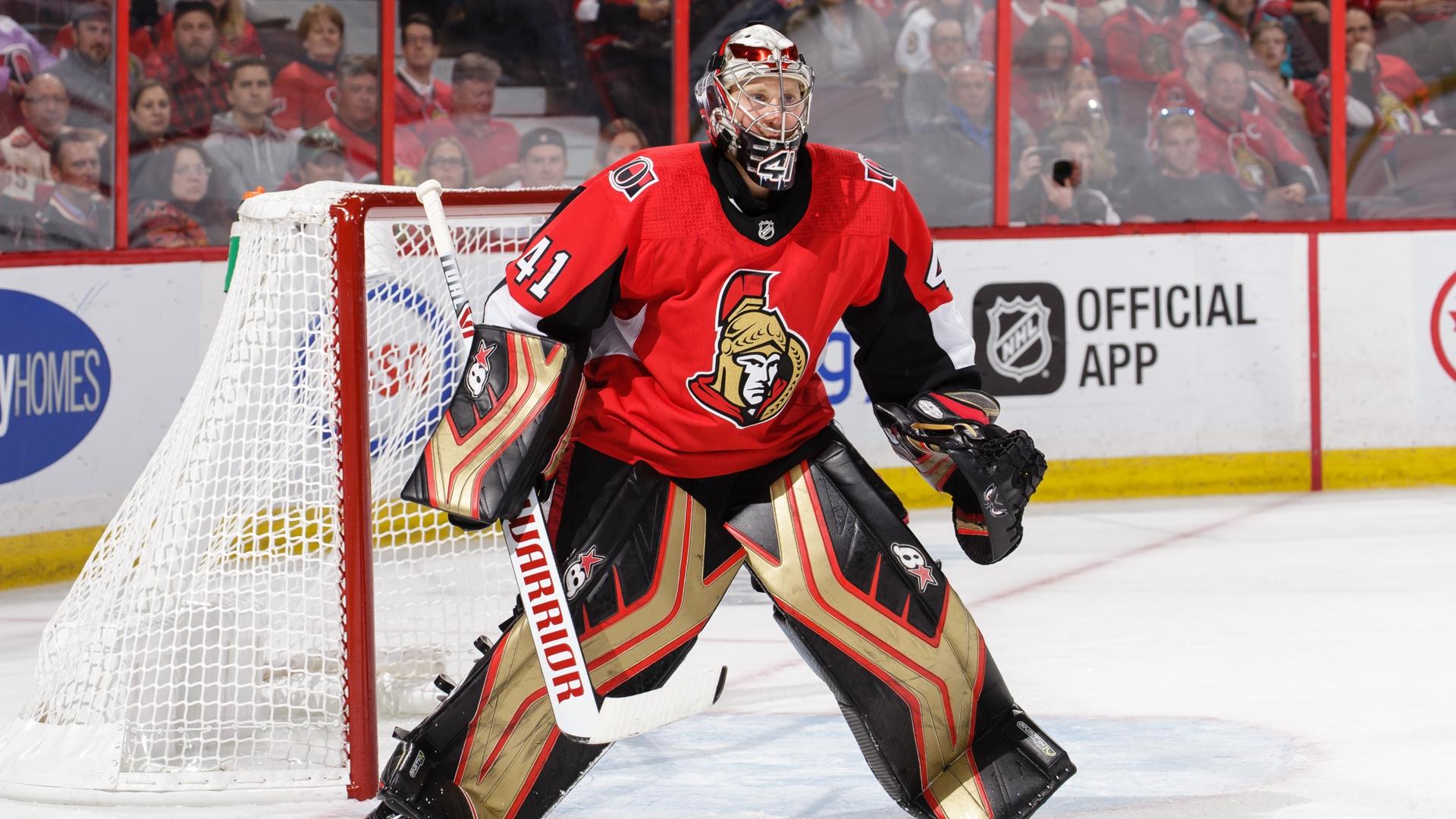 Senators goalie Craig Anderson unsure of NHL future amid season pause 1