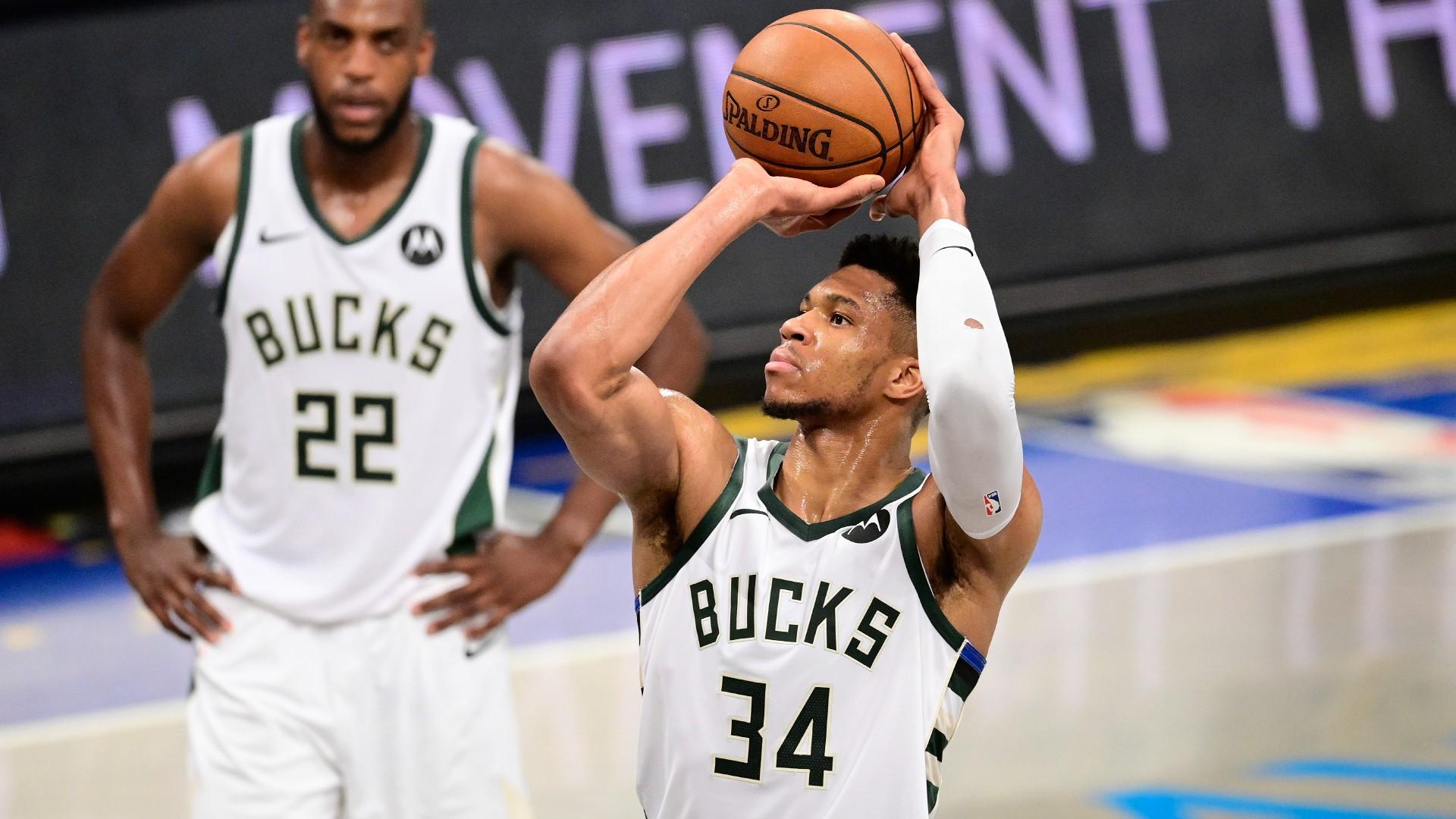 NBA rules Nets can no longer time Giannis Antetokoumpo's free throws at Jumbotron