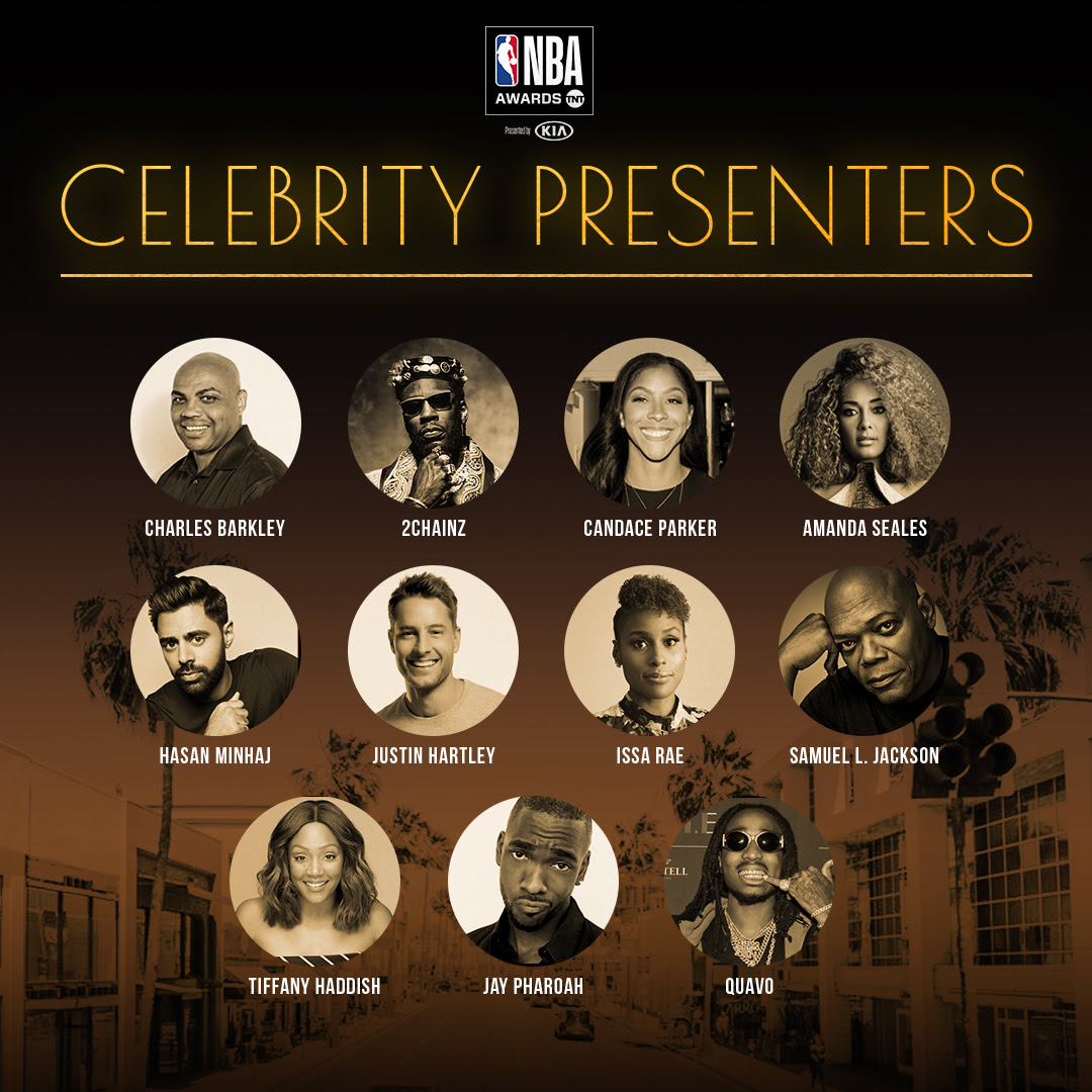 NBA Celebrity Presenters