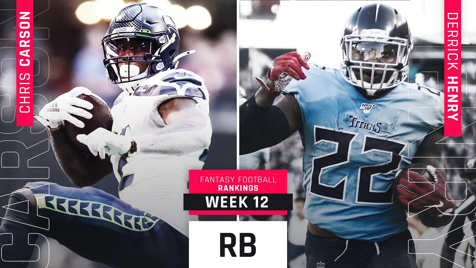 Week 12 Fantasy RB Rankings: Ezekiel Elliott falling, but still in our top 10