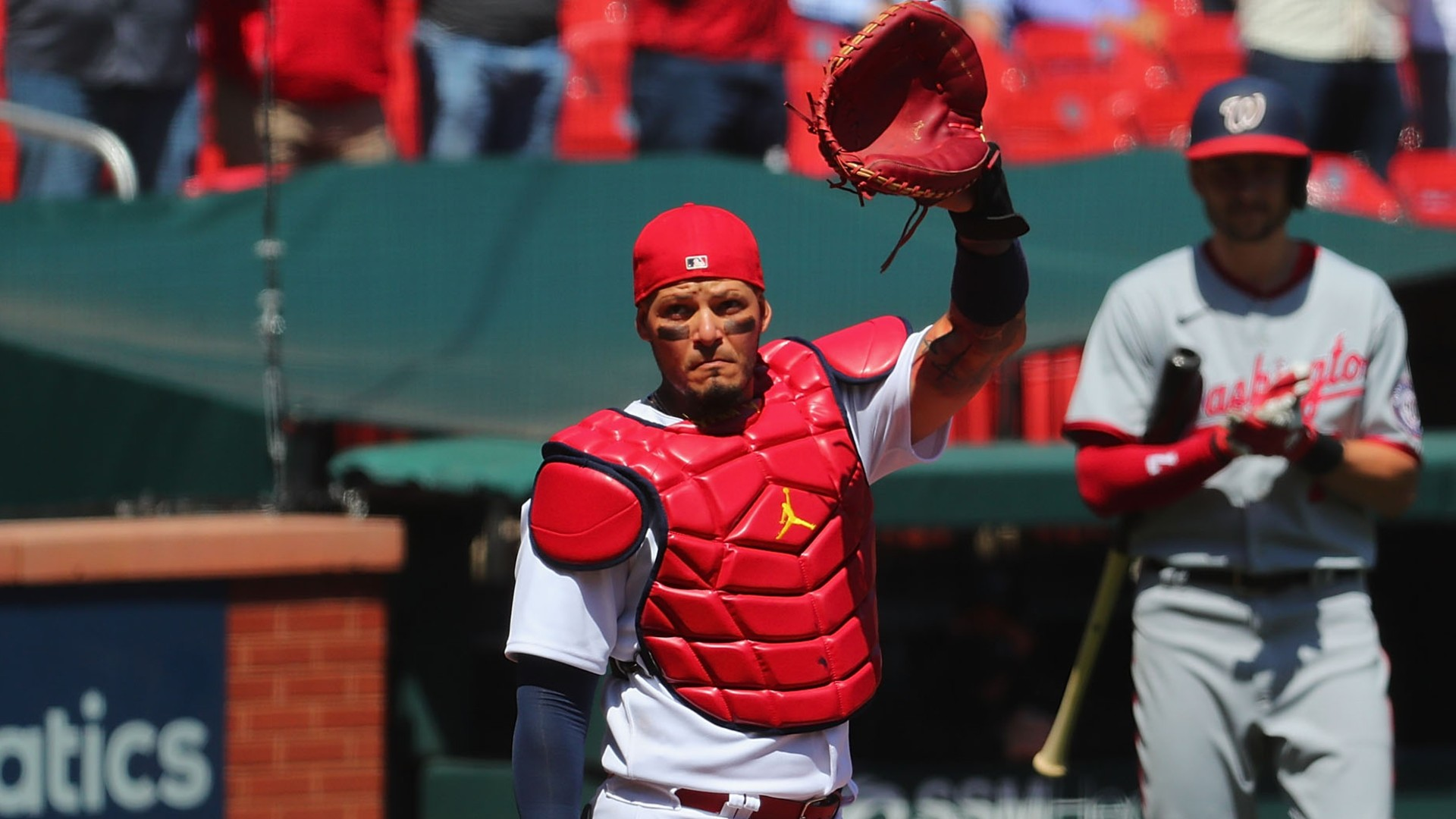 Yadier Molina has entered MLB's record books with 2,000 games caught with the Cardinals