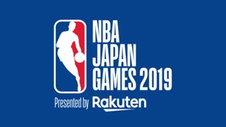 NBA Japan Games 2019 logo blue