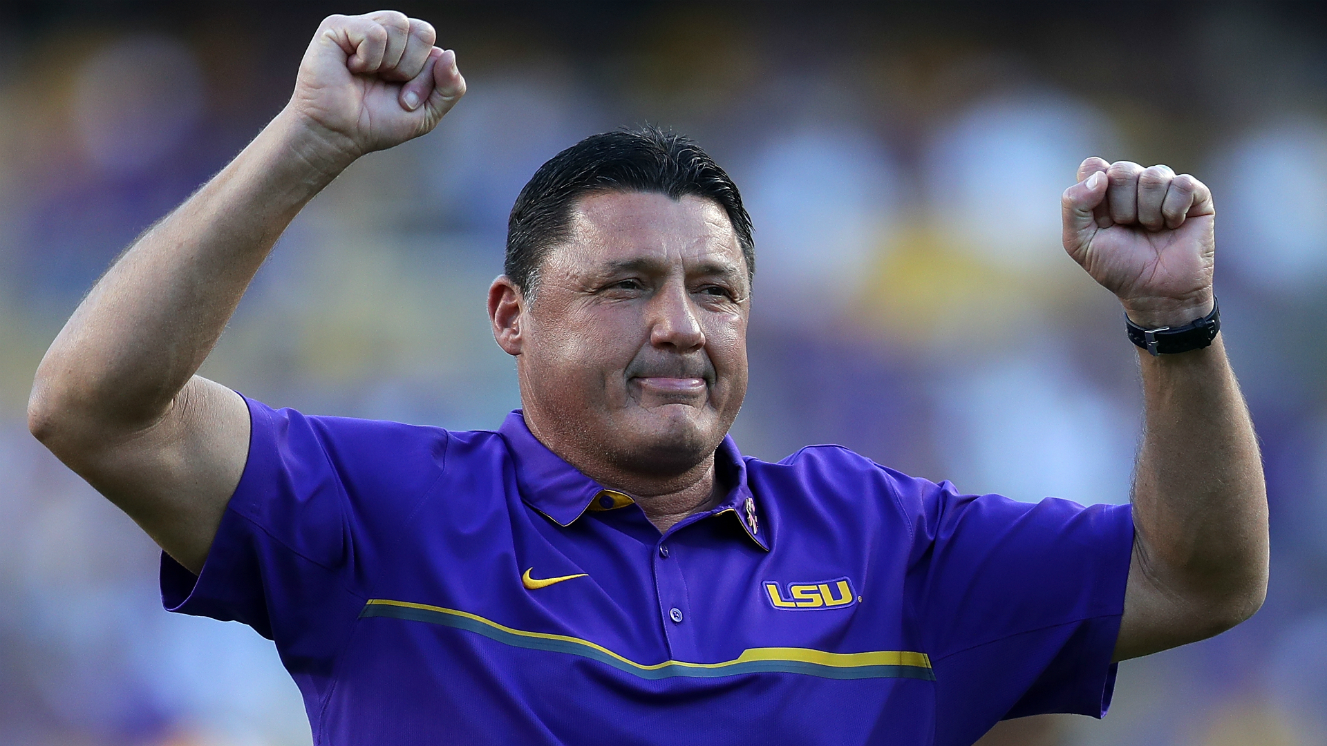 'Young Rock' hilariously depicts former Miami coach Ed Orgeron in premiere episode