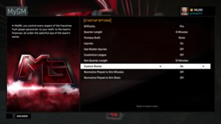 NBA 2K16 how to find roster with rookies