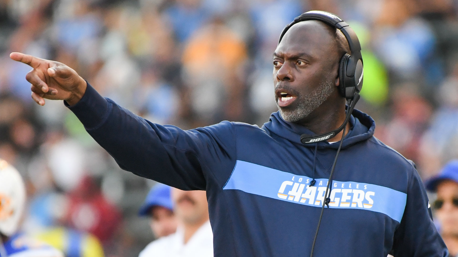 Chargers coach Anthony Lynn has NFL