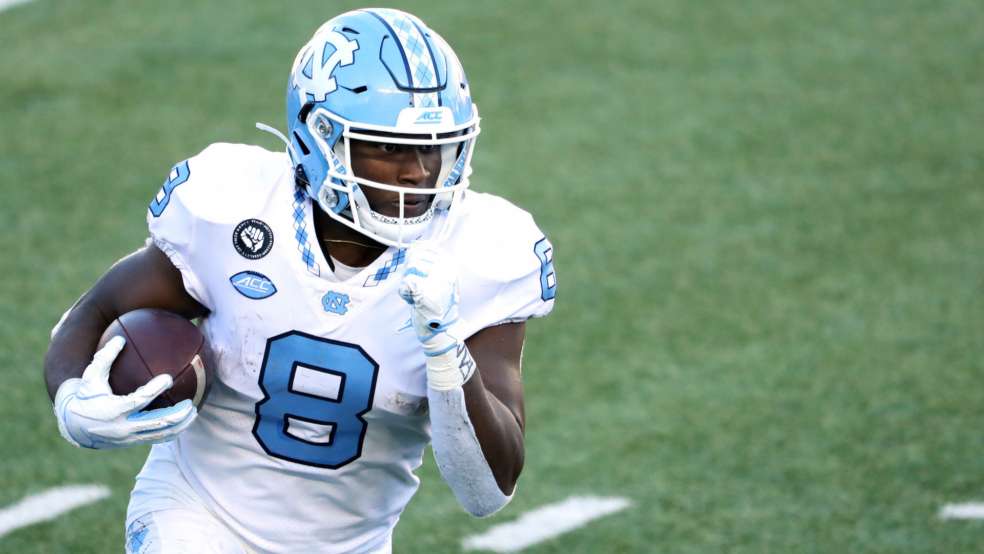 Michael Carter, Javonte Williams combine to set NCAA rushing record in  UNC's blowout of Miami | Sporting News