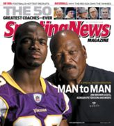 Adrian Peterson and Jim Brown