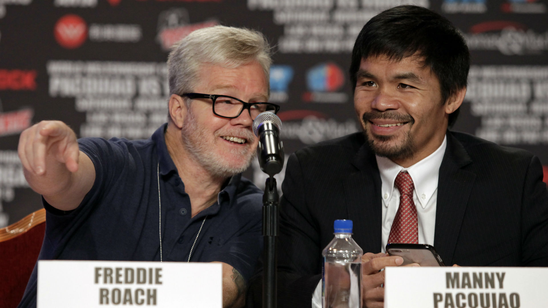 Freddie Roach on Manny Pacquiao losing his killer instinct, how he'll beat Keith Thurman and training Ivan Baranchyk