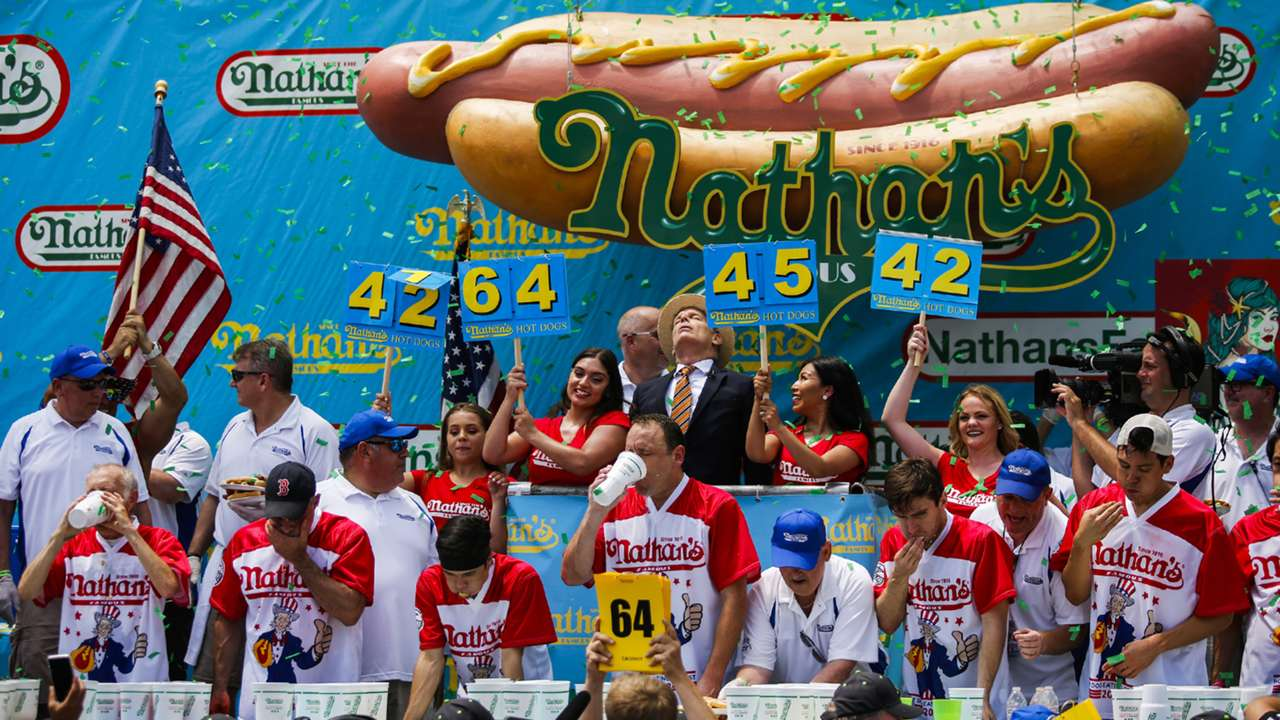 ネイサンズ国際ホットドッグ大食い競争,