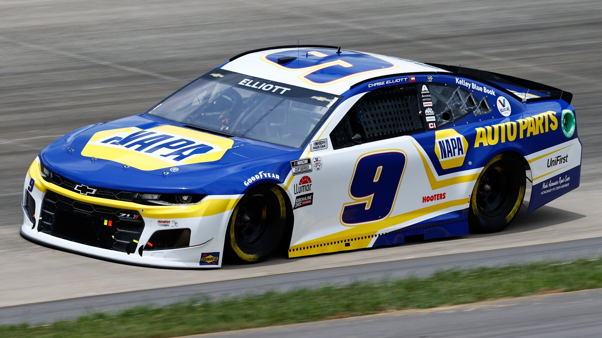 Chase Elliott has been disqualified after a race in Nashville for loose falls in the car