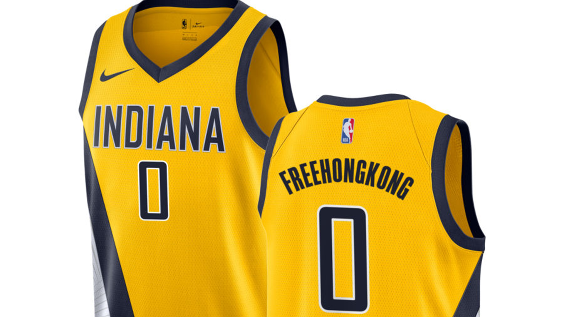 NBA store says \'Free Hong Kong\' was \'inadvertently prohibited
