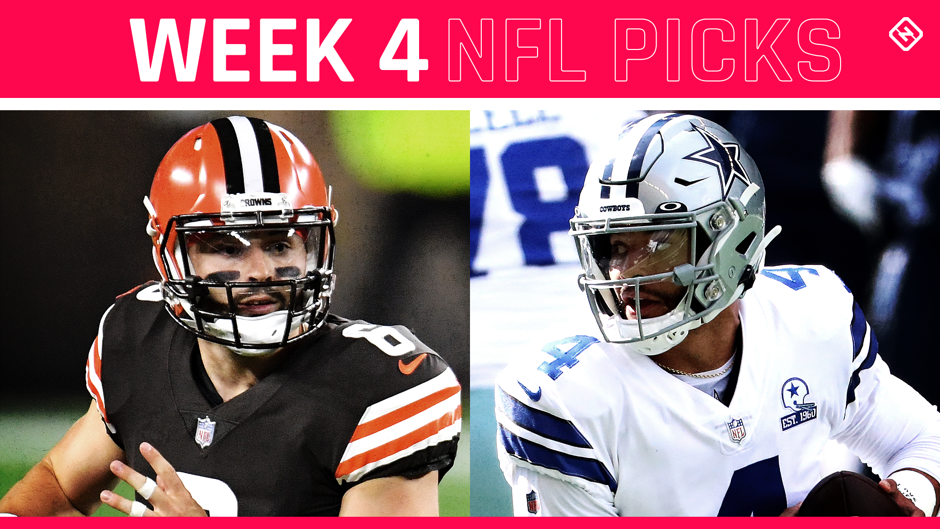 NFL picks, predictions for Week 4: Browns upset Cowboys; Packers, Bears stay unbeaten