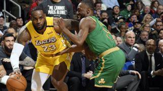LeBron James Los Angeles Lakers Kemba Walker Boston Celtics