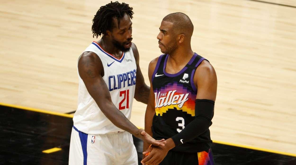 Patrick Beverley LA Clippers Chris Paul Phoenix Suns