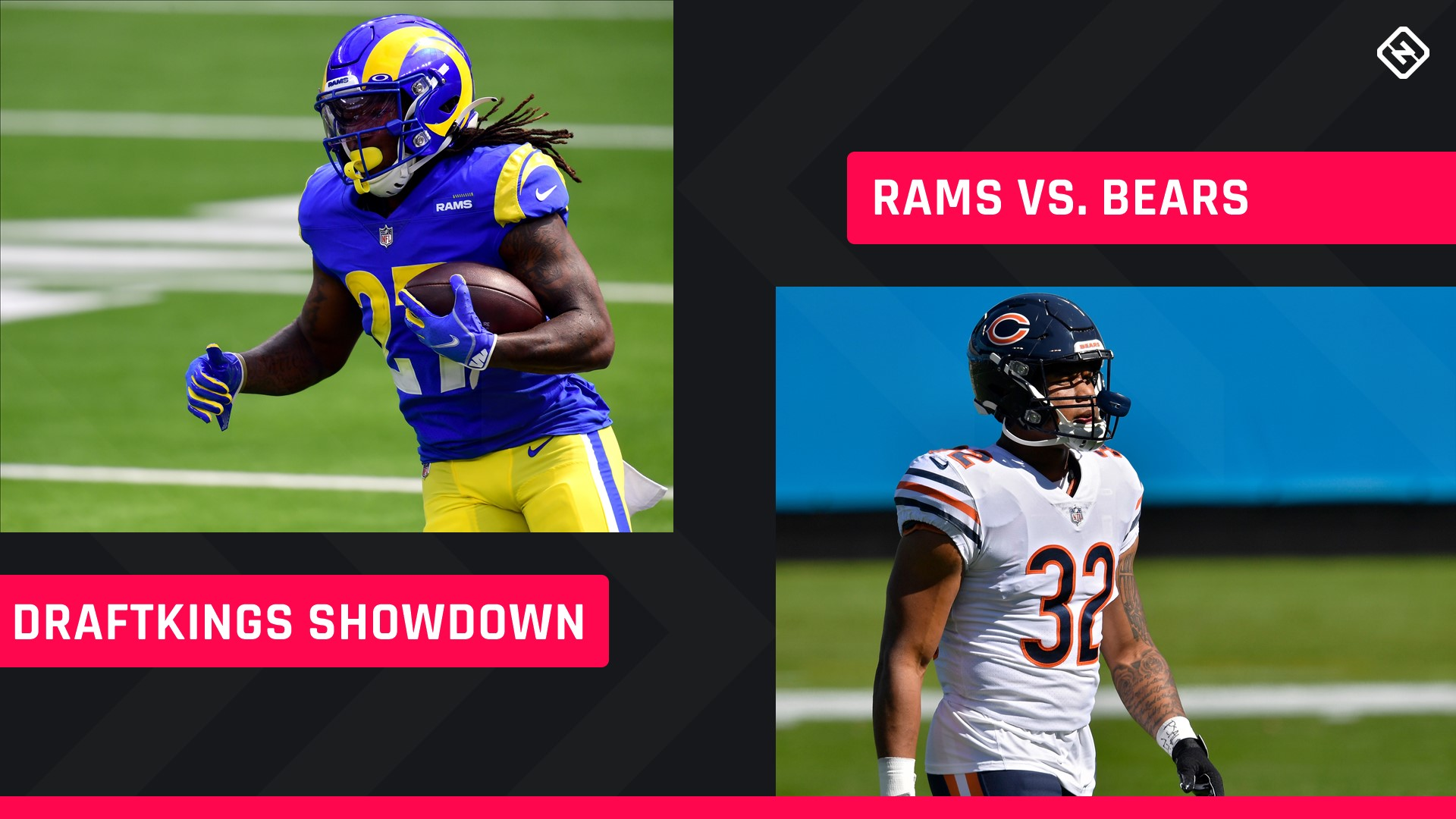 Monday Night Football DraftKings Picks: NFL DFS lineup advice for Week 7 Bears-Rams Showdown tournaments 1