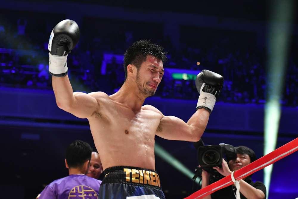 村田諒太、王座獲得