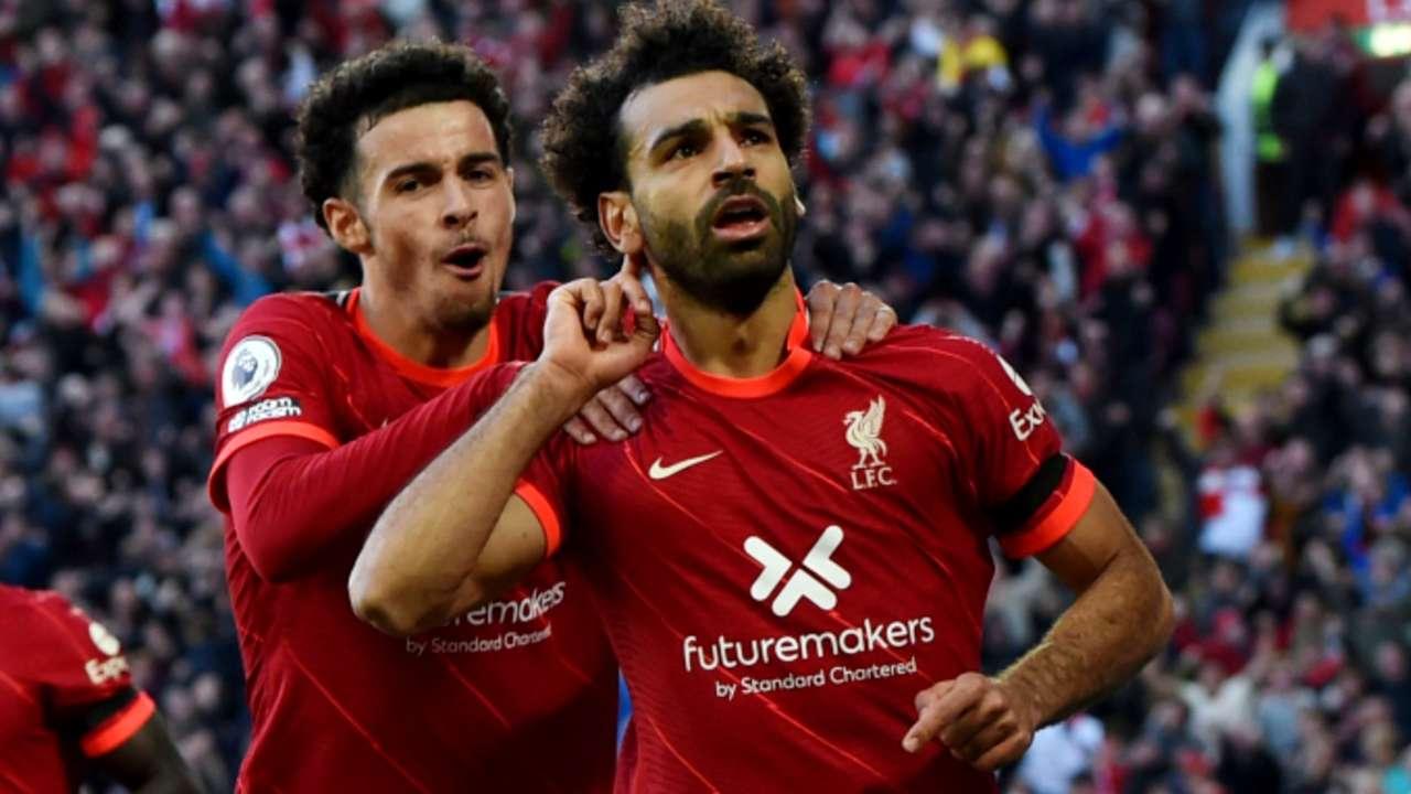 Mohamed Salah - Liverpool - October 3, 2021