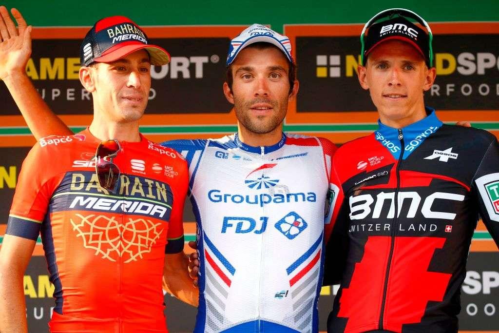 左からヴィンチェンツォ・ニバリ、ディラン・トゥーンスティボ・ピノー、