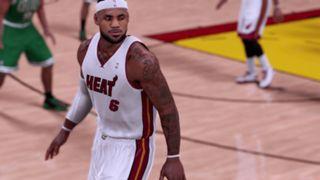 NBA 2K16 Miami Heat 2012-13 LeBron James