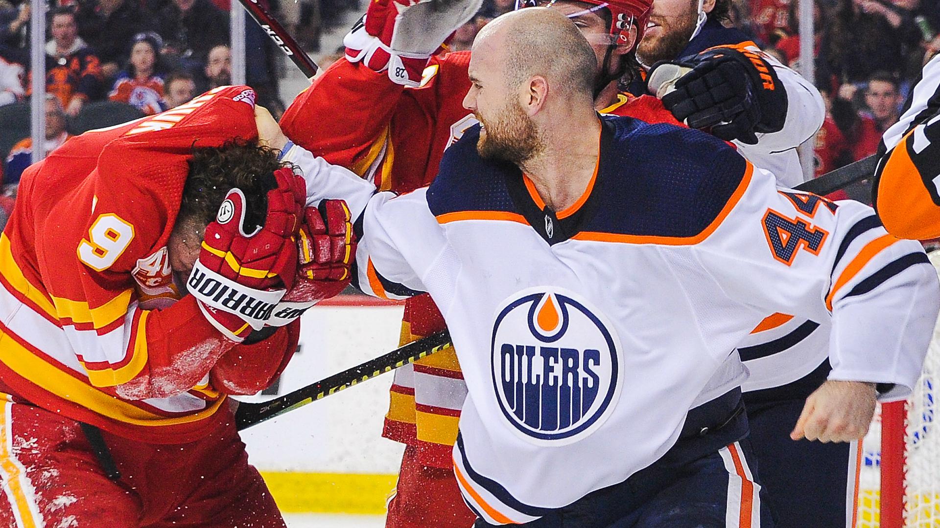 Edmonton Oilers Zack Kassian Calls Out Flames Matthew Tkachuk After Wild Beatdown Sporting News Canada