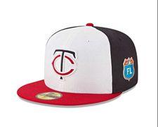 Twins FTR spring training hats MLB .jpg