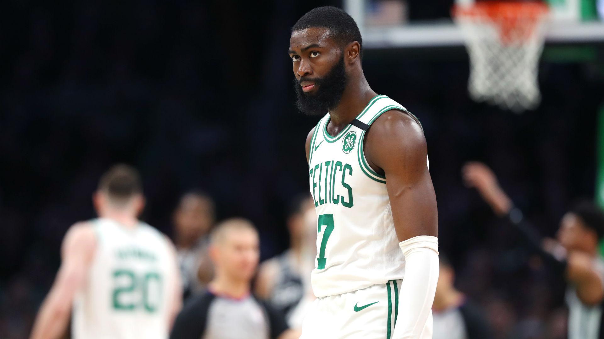 Jaylen Brown injury update: Celtics announce timetable for wing's return in '21-22 season