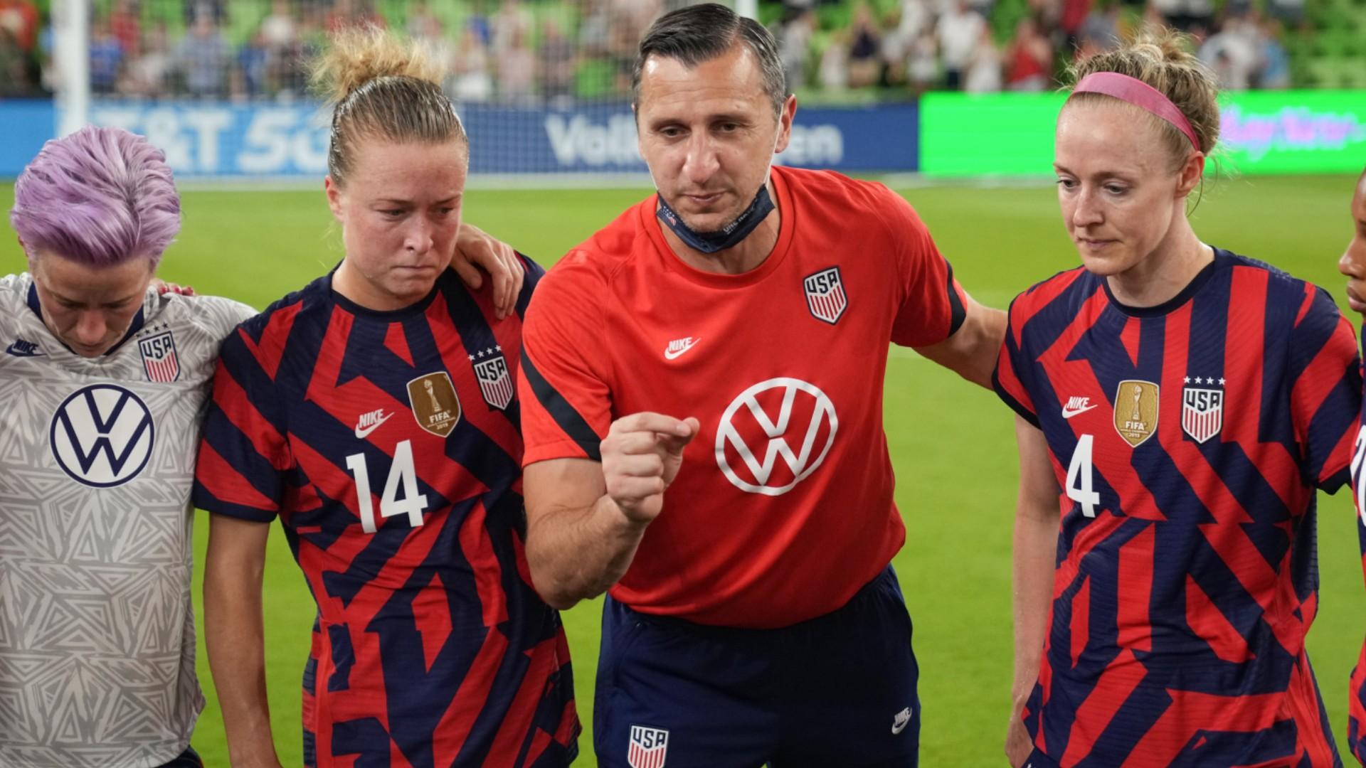 USWNT coach Vlatko Andonovski's toughest decisions on Olympic football list