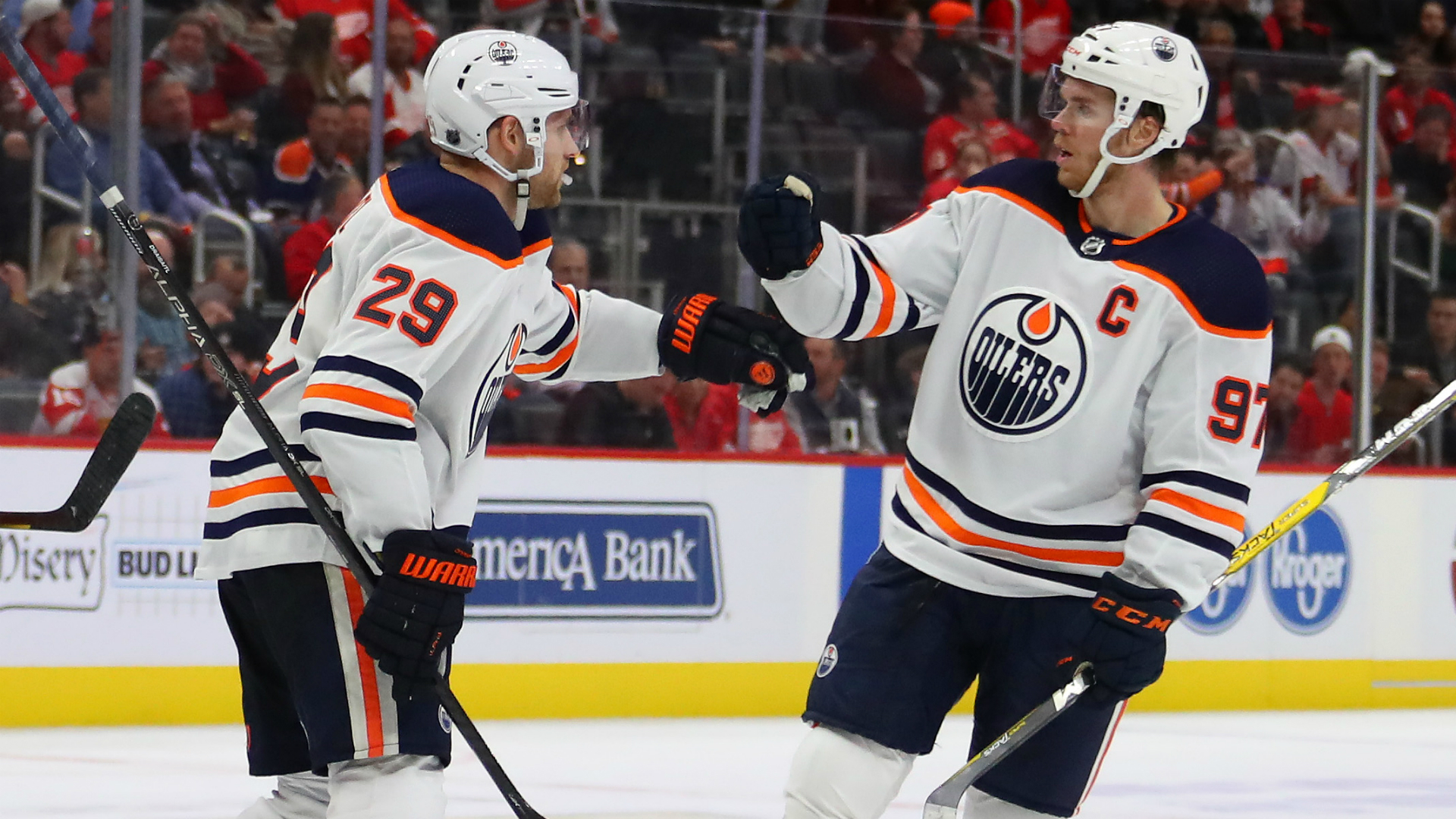 Edmonton Oilers' Leon Draisaitl, Connor McDavid just cannot stop scoring