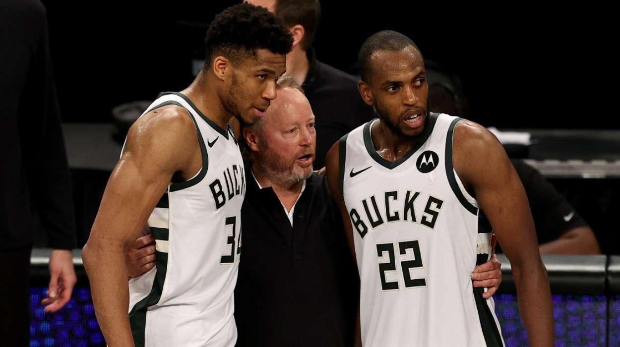 Milwaukee Bucks Mike Budenholzer Giannis Antetokounmpo Khris Middleton