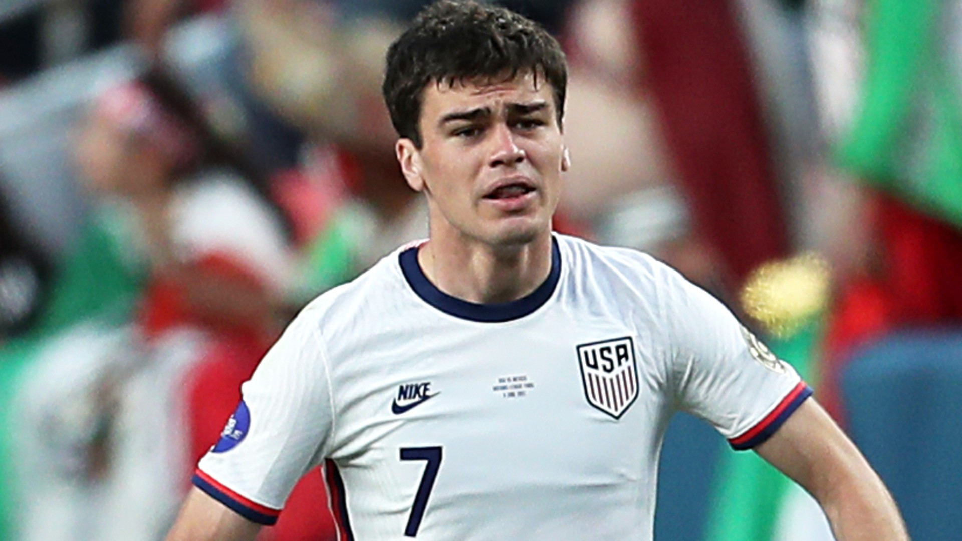 Fan who hit USMNT's Gio Reyna in the head with a projectile is arrested, banned and faces criminal charges