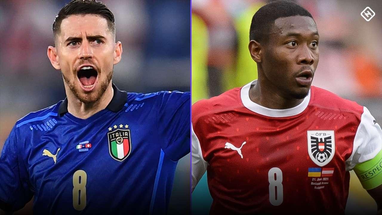 Italy vs. Austria - Euros 2021