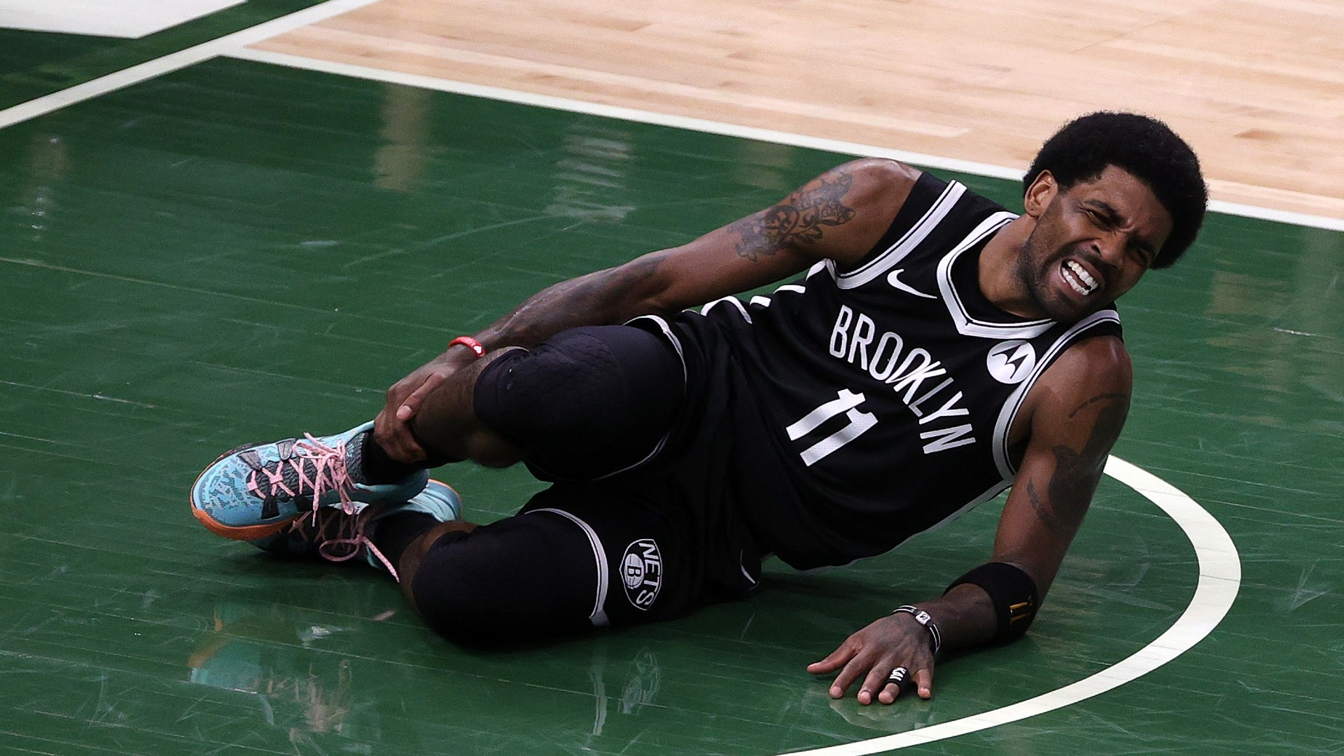 Kyrie Irving injury update: Nets guard ruled out of Game 5 vs. Bucks with sprained ankle