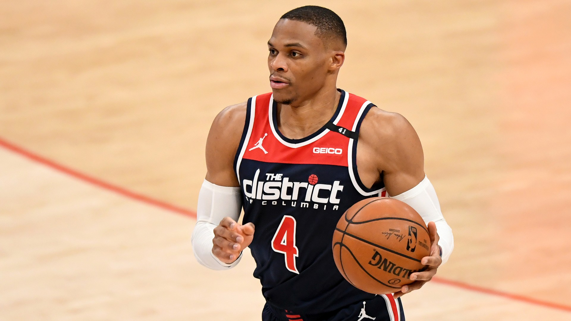 Wizard Russell Westbrook and his wife Nina respond to critical comments from ESPN's Stephen A. Smith