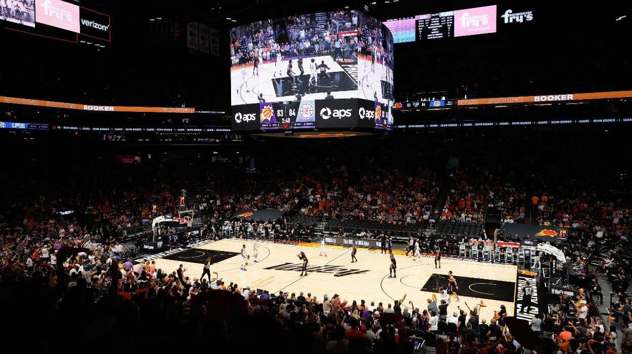 Fans Phoenix Suns LA Clipper
