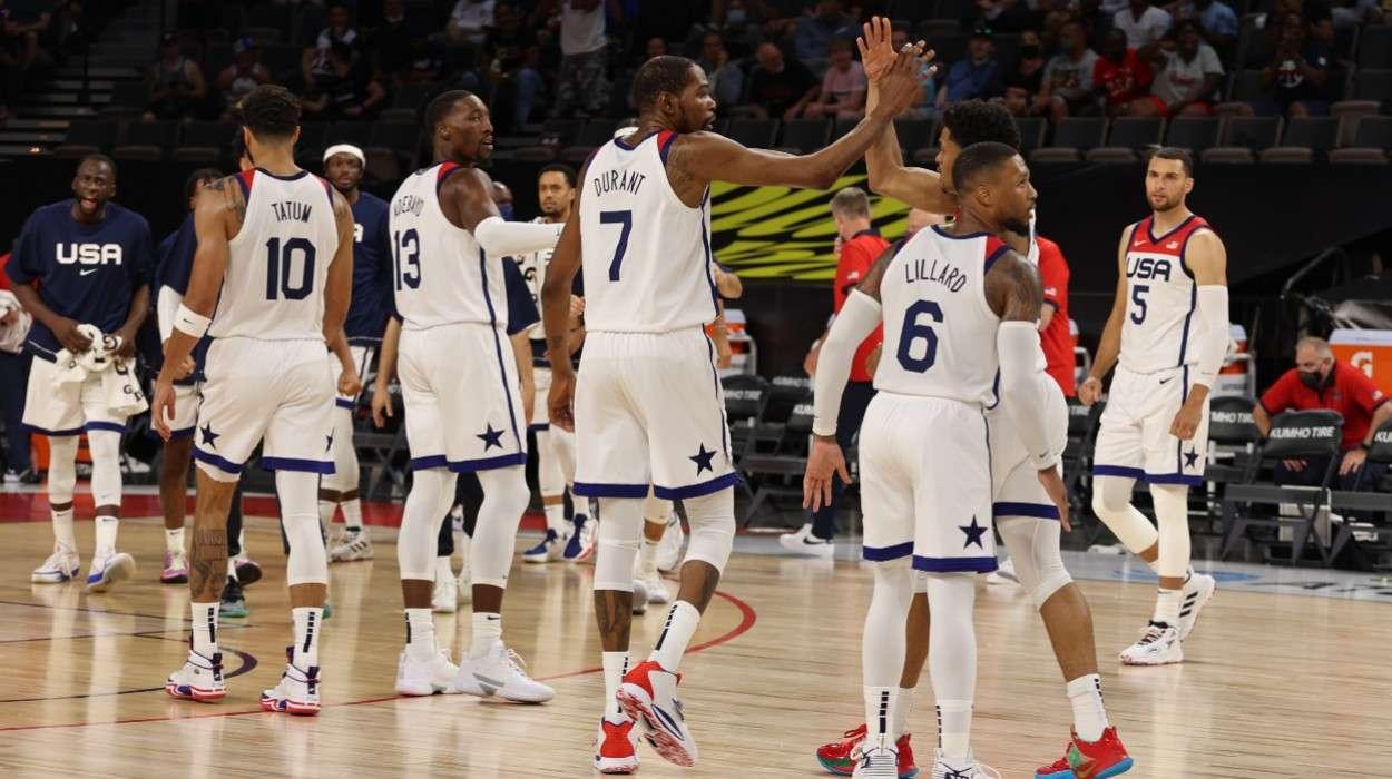 Kevin Durant USA Men's National Team