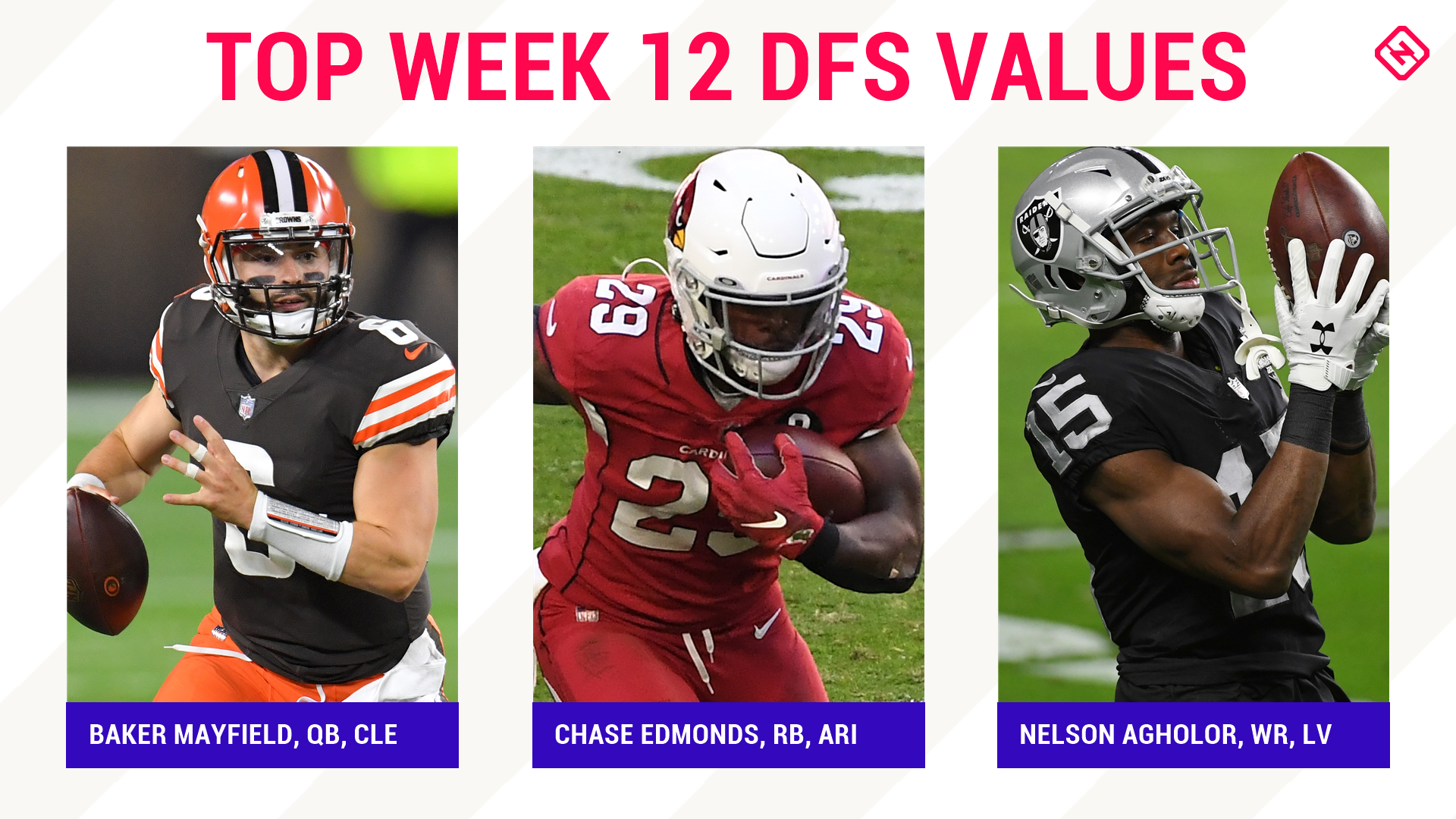 Week 12 NFL DFS Picks: Best value players, sleepers for DraftKings, FanDuel daily fantasy football lineups - sporting news