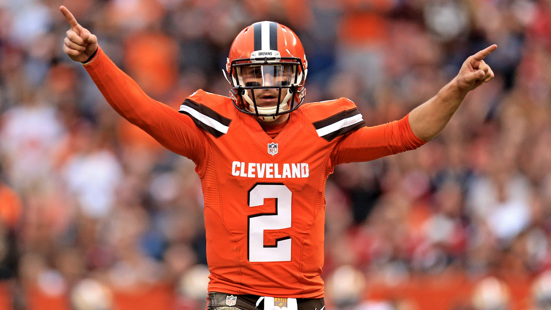 "LeBron James wears Cleveland Browns ""Johnny Manziel"" Jersey"