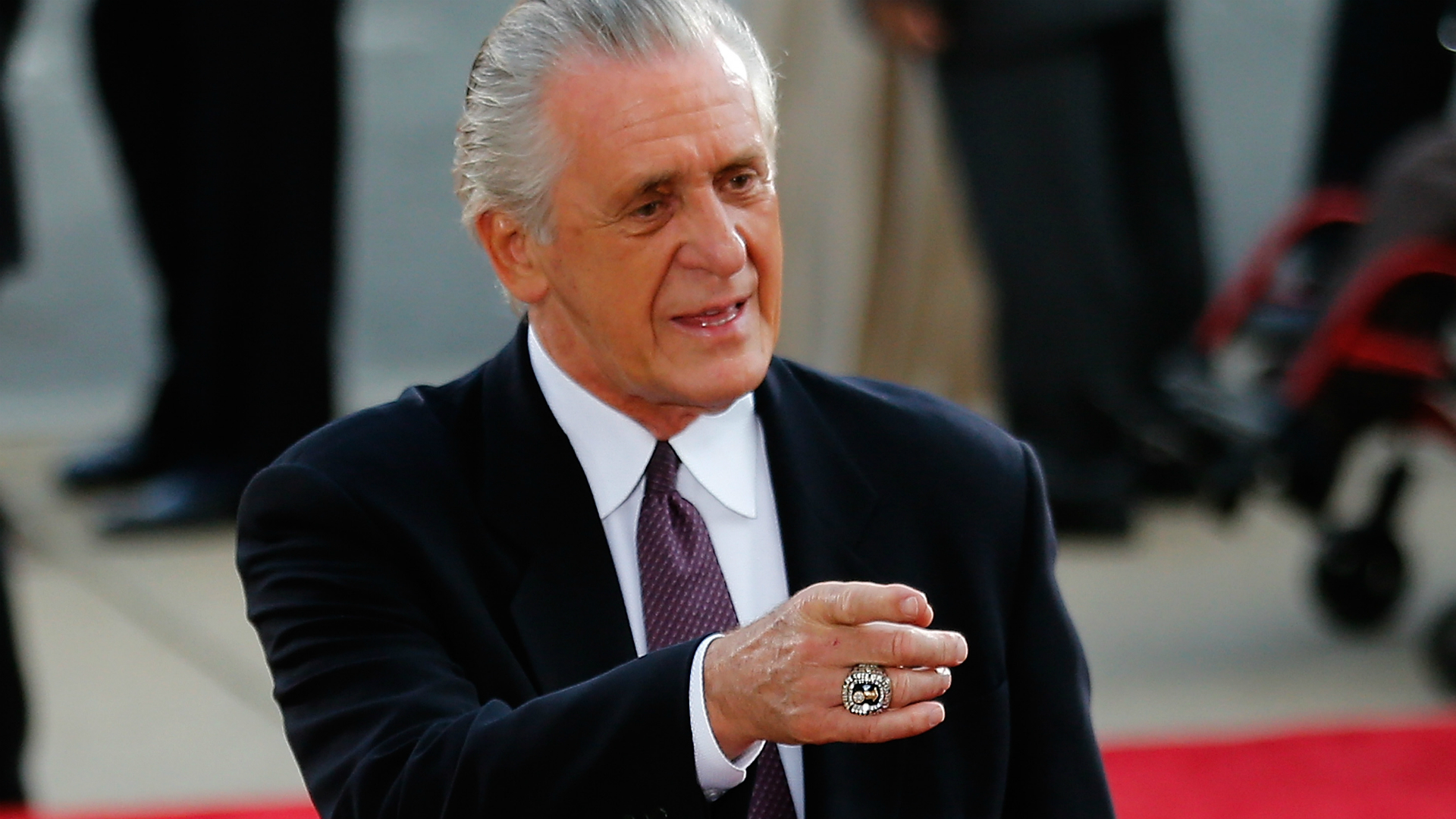What did Pat Riley say about LeBron James?  Heat president slapped with manipulation fine