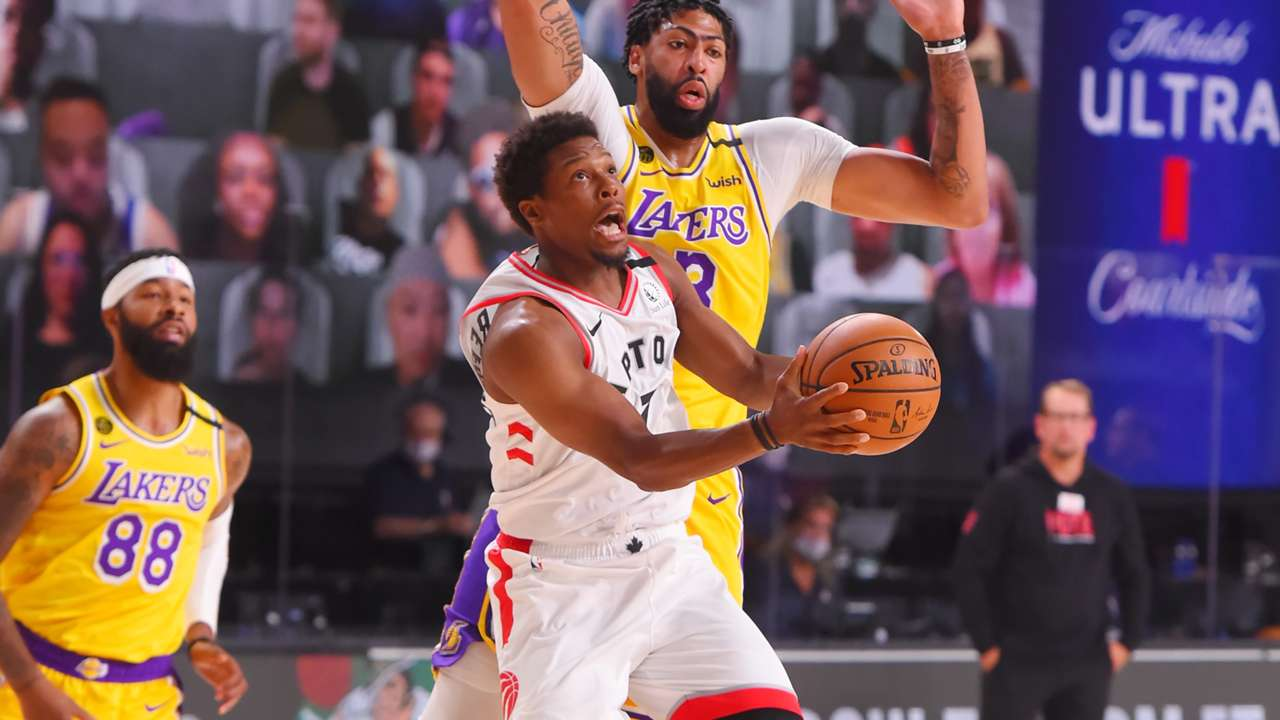 Kyle Lowry Raptors Lakers