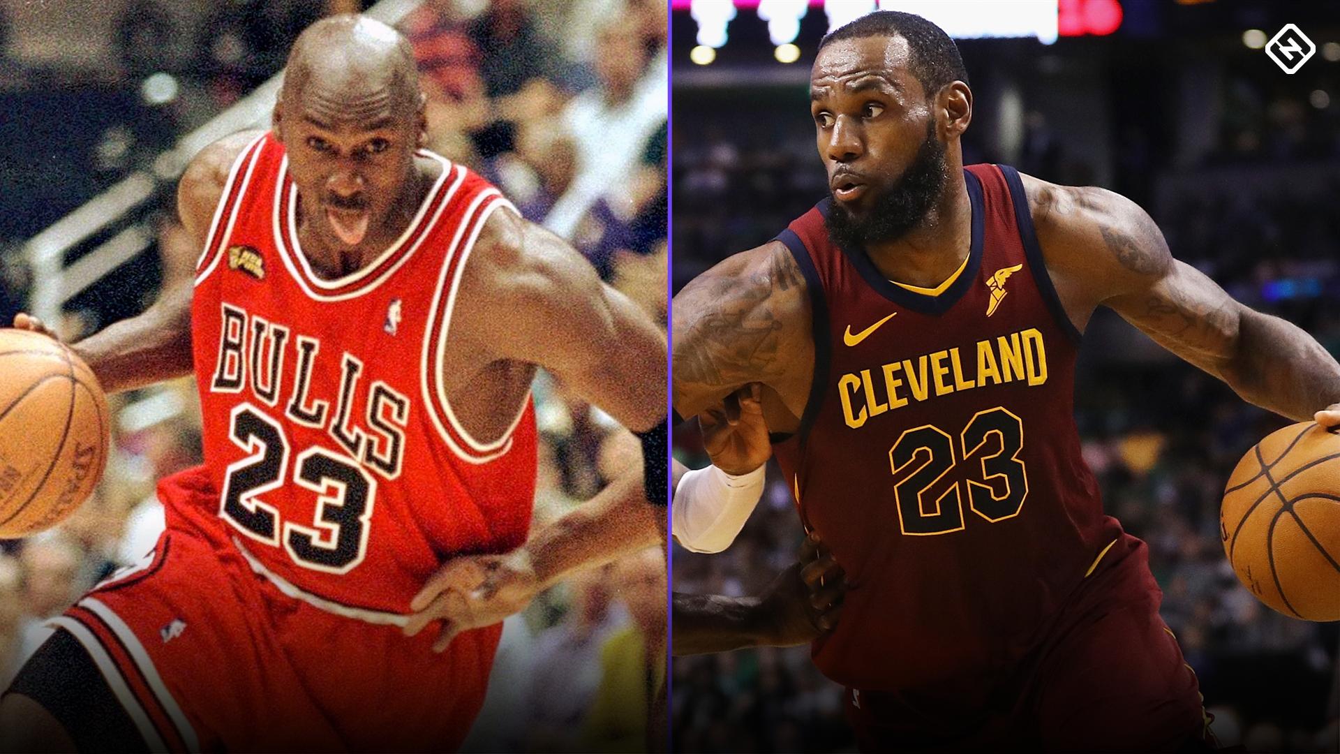 Incorrecto A veces a veces Vulgaridad  In Michael Jordan vs. LeBron James debate, dissecting legacies is wrong  approach | Sporting News