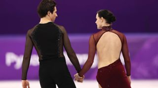 Tessa Virtue and Scott Moir of Canada