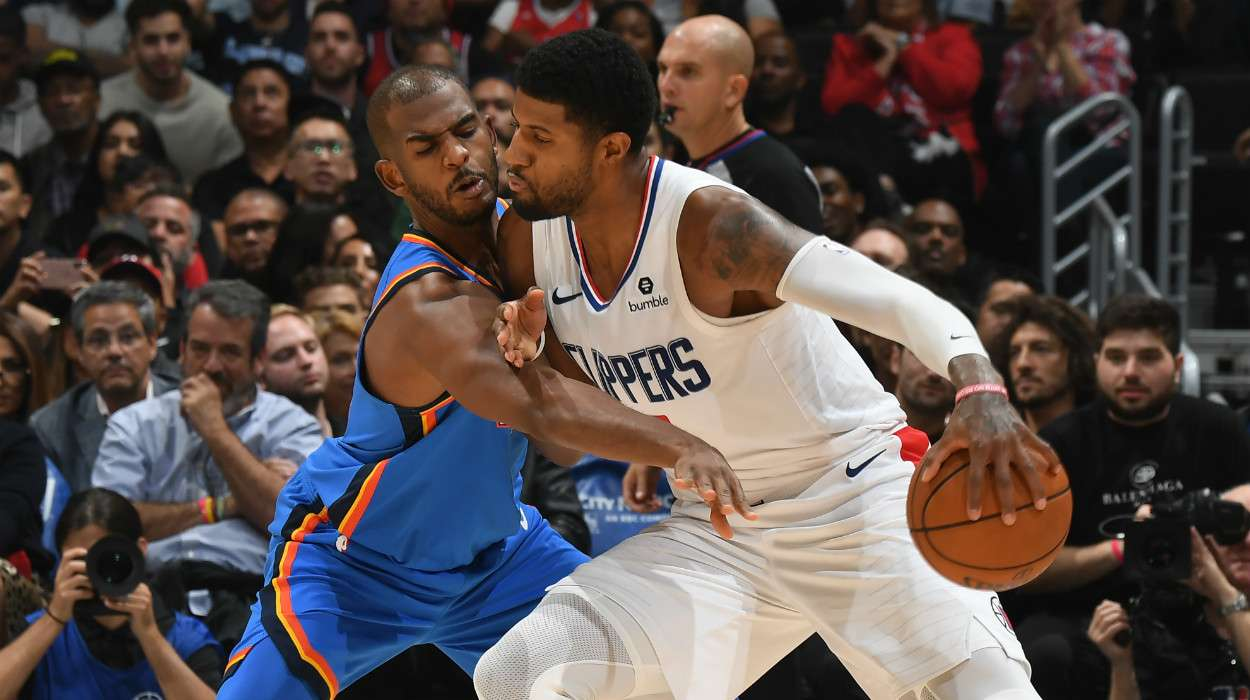 Paul George LA Clippers