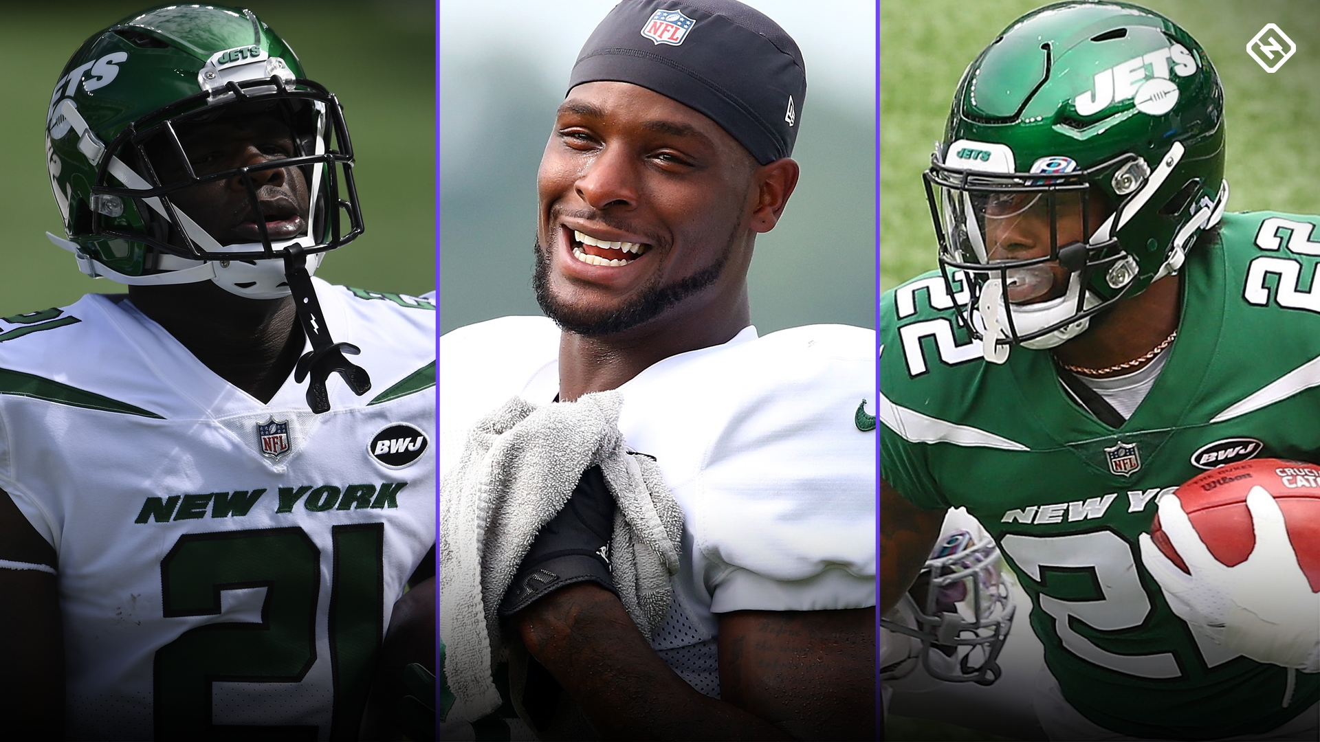 Who's the Jets starting RB? Fantasy outlooks for Frank Gore, La'Mical Perine after Le'Veon Bell's release 1