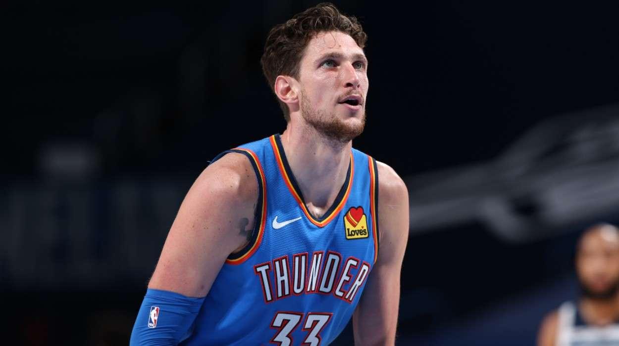 Mike Muscala Oklahoma City Thunder