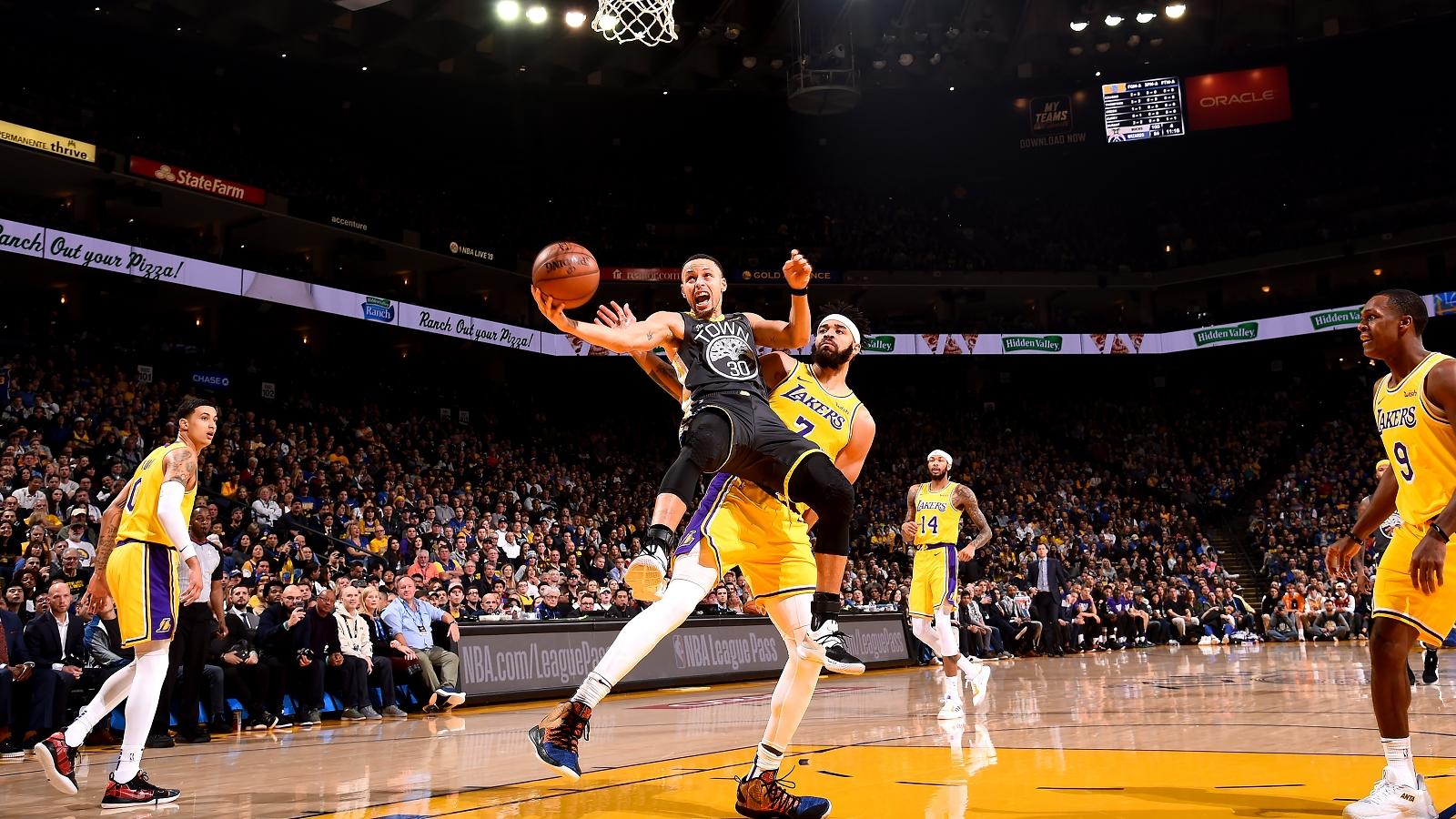 Warriors vs Lakers
