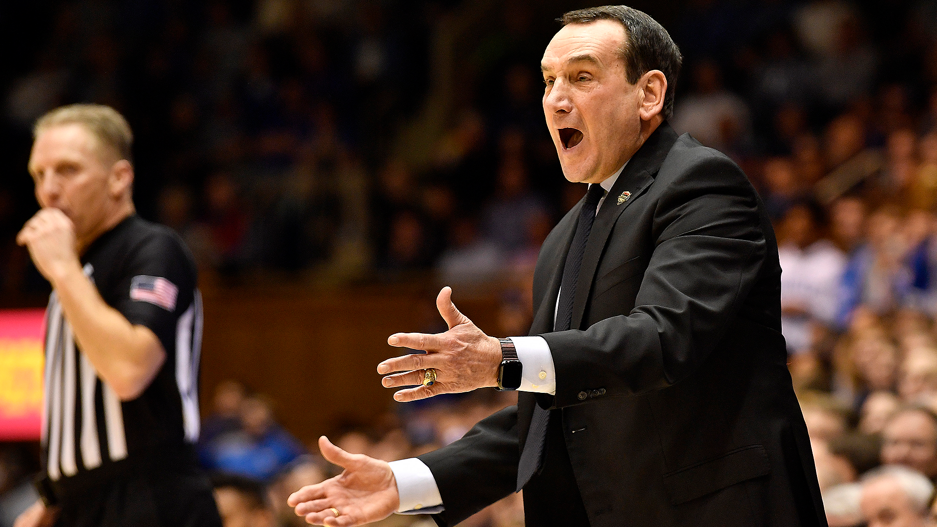 Coach K says 'plowing through' college basketball season doesn't feel right as COVID-19 cases rise