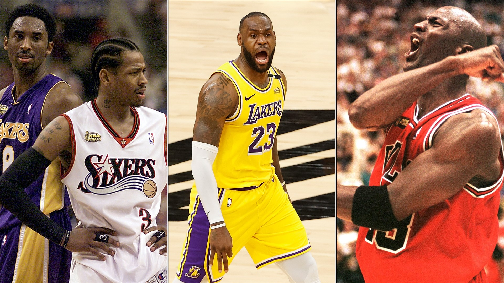 Allen Iverson claims that his NBA Draft class in 1996 was superior to LeBron James' and Michael Jordan's.