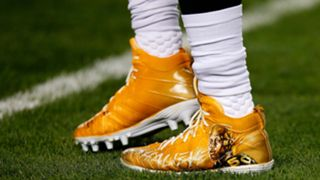 Tribute to Shazier shoes