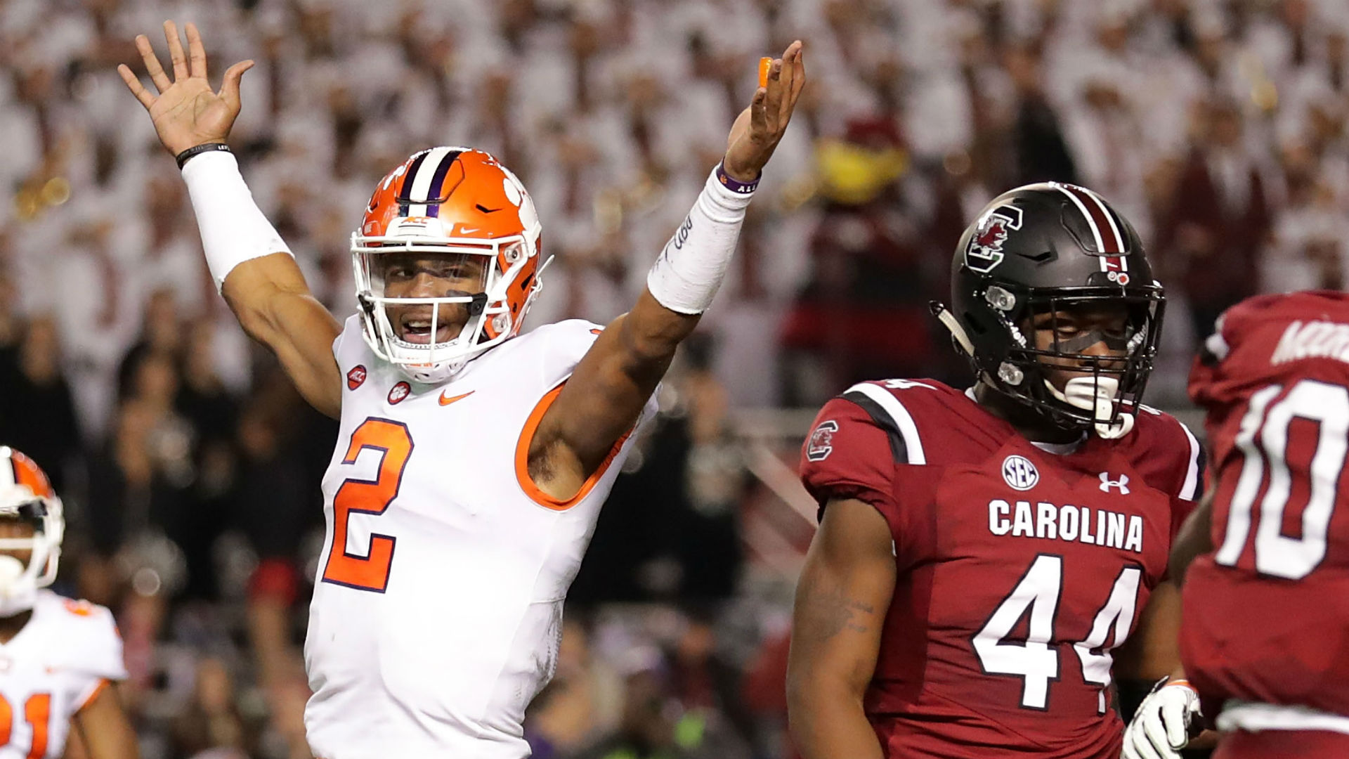 Clemson trolls rival South Carolina with 'Sandstorm' after ...
